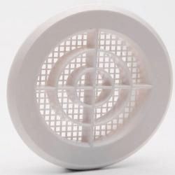 Grille aération à encastrer avec clips ø 10 cm FEPRE