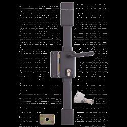 Serrure verticale Beluga THIRARD blanche - 3 points - 75x130 - Fouillot - Droite -  049511pose en applique