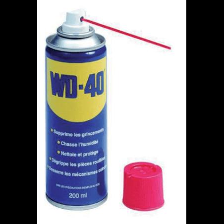 WD40 Huile lubrifiante Aerosol contenance 200ml