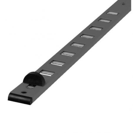 grille d'aération à glissière  RENSON - 275 mm - noir