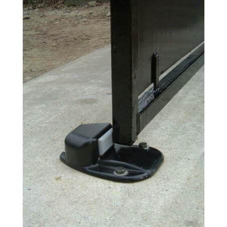 Bloc portail noir à visser 9601 MONIN