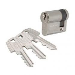 Demi cylindre pour porte de garage TESA TE5 - 30x10mm - nickelé - 50303010N