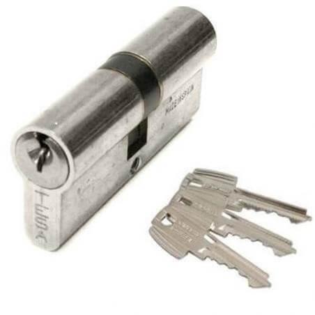 Cylindre TESA TE5 - 30x70mm - nickelé - 50303070N