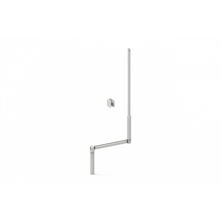 Manivelle volet roulant complète blanche E631B