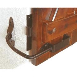 Arrêt de volet MONIN - Blocboy noir -  152400