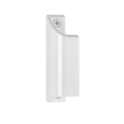 Poignée aileron pour porte fenêtre en alu laqué blanc 9010 HOPPE - L.90 mm