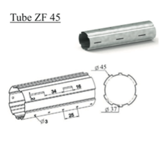 Tube d'enroulement ZF 45