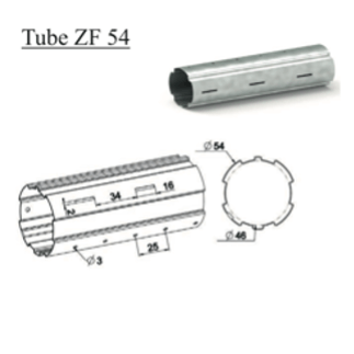Tube d'enroulement ZF 54