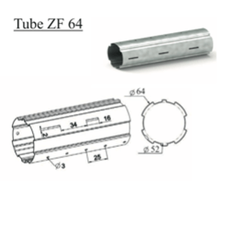 Tube d'enroulement ZF 64