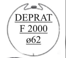 tube d'enroulement rond diamètre 62