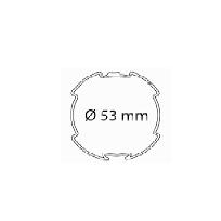 tube d'enroulement rond diamètre 53