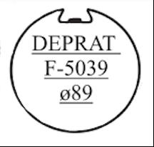 tube d'enroulement rond diamètre 80